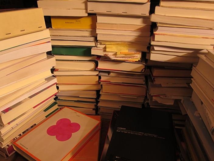 処分したいたくさんの本
