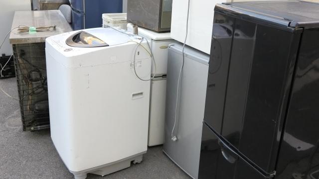 処分したい洗濯機