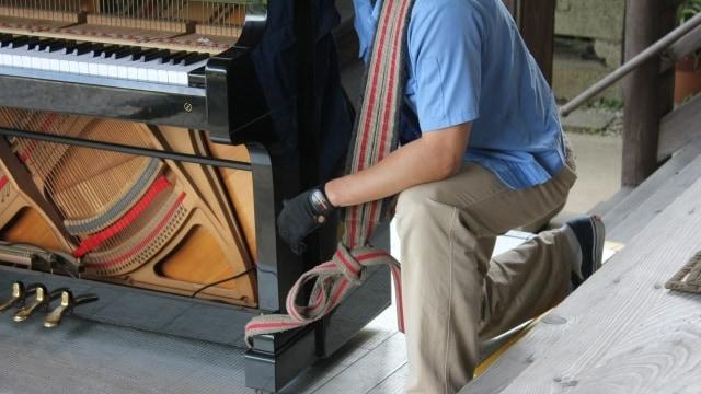 ピアノを搬出する業者